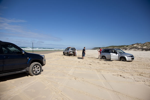 how to get to double island point rainbow beach